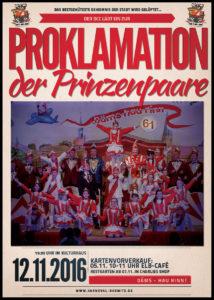Proklamation der Prinzenpaare
