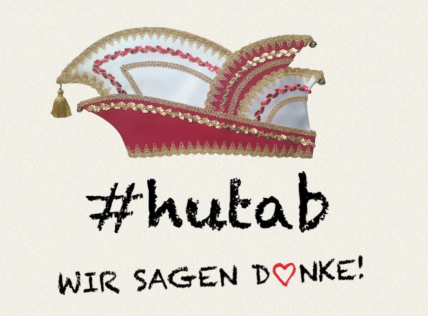 #hutab – Wir sagen DANKE!