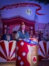 Petra Hamann in der Bütt (61. Saison)